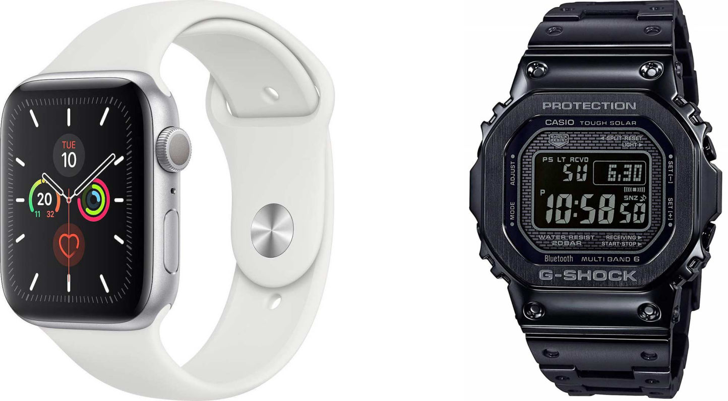 Apple Watch και Casio G-Shock