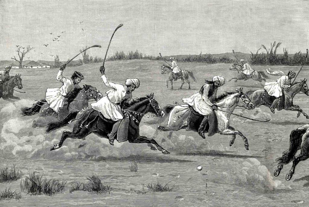 Ινδοί παίζουν polo